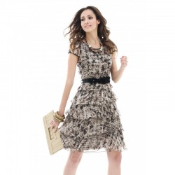 Fashion - Long Printed Dress