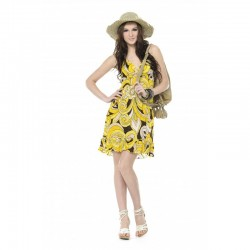 Tendance - Printed Chiffon Dress
